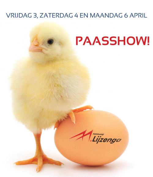 Tot op de Paasshow bij Autobedrijf Lijzenga!